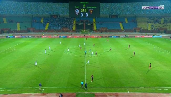 ملخص مباراة الزمالك واول اغسطس (2-0) دوري ابطال افريقيا