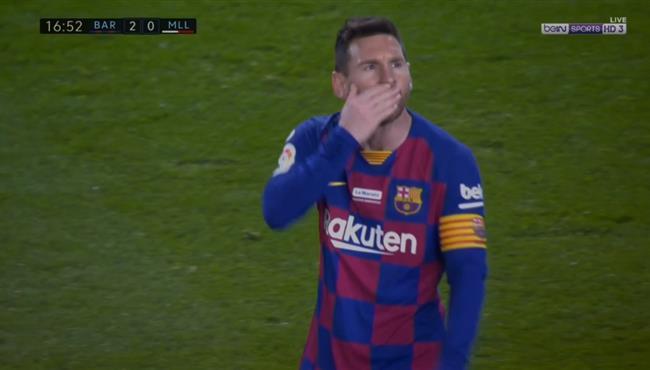 هاتريك ميسي امام ريال مايوركا في الدوري الاسباني