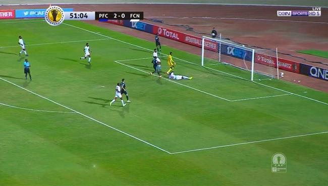 هدف بيراميدز الثالث فى مرمى نواديبو (3-0) كاس الكونفيدرالية