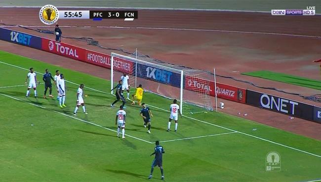 هدف بيراميدز الرابع فى مرمى نواديبو (4-0) كاس الكونفيدرالية