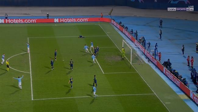 هدف تعادل مانشستر سيتي المثير مع دينامو زغرب (1-1) دوري ابطال اوروبا
