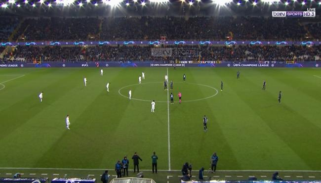 ملخص مباراة ريال مدريد وكلوب بروج (3-1) دوري ابطال اوروبا
