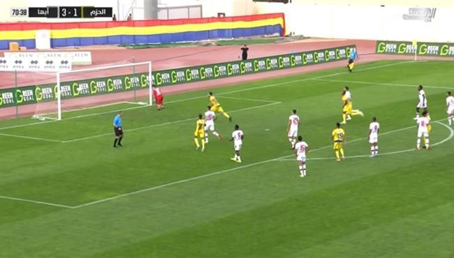 اهداف مباراة ابها والحزم (3-2) الدوري السعودى