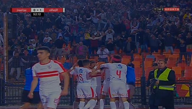 اهداف مباراة الزمالك وبيراميدز 2 0 الدوري المصري بطولات
