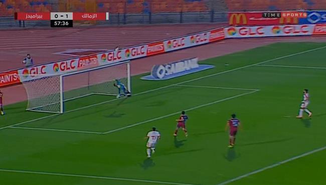 تصدي رائع من احمد الشناوي في مباراة الزمالك وبيراميدز بالدوري المصري