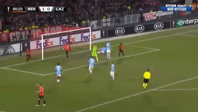 اهداف مباراة لاتسيو ورين (0-2) الدوري الاوروبي