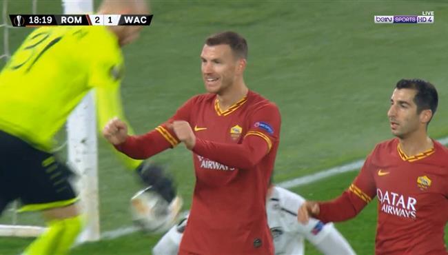 أهداف مباراة روما وفولفسبرجر (2-2) الدوري الأوروبي