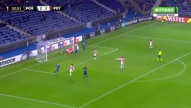اهداف مباراة بورتور وفينورد (3-2) الدوري الاوروبي