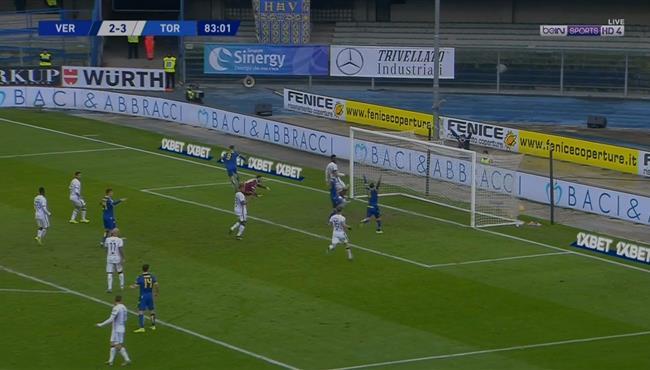 اهداف مباراة تورينو هيلاس فيرونا (3-3) الدوري الايطالي