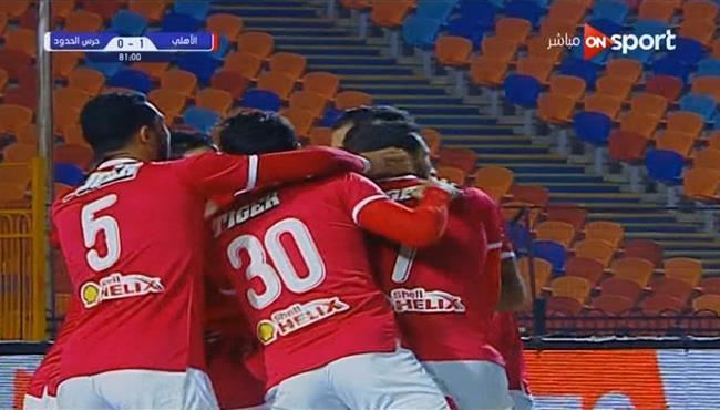 هدف فوز الاهلي علي حرس الحدود (1-0) الدوري المصري