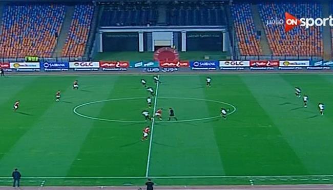 ملخص مباراة الاهلي وحرس الحدود (1-0) الدوري المصري