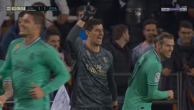 اهداف مباراة ريال مدريد وفالنسيا (1-1) الدوري الاسباني
