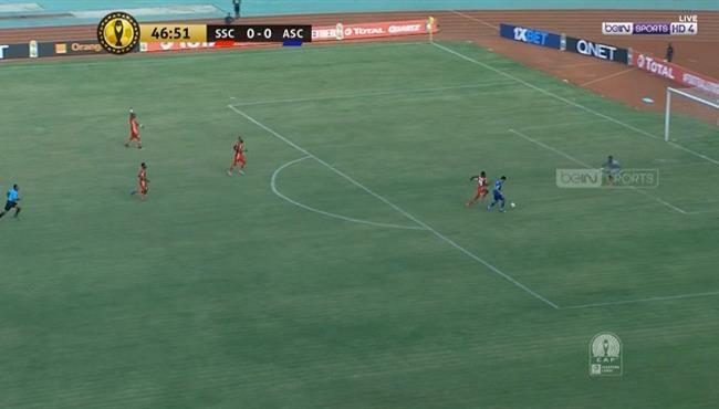 حسين الشحات يهدر انفراد امام سيمبا في دوري ابطال افريقيا