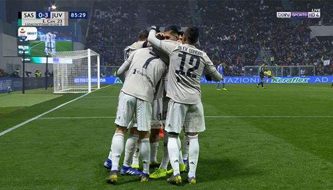اهداف مباراة يوفنتوس وساسولو (3-0) الدوري الايطالي