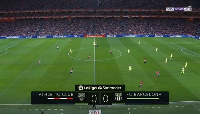 ملخص مباراة برشلونة واتلتيك بلباو بالدوري الاسباني