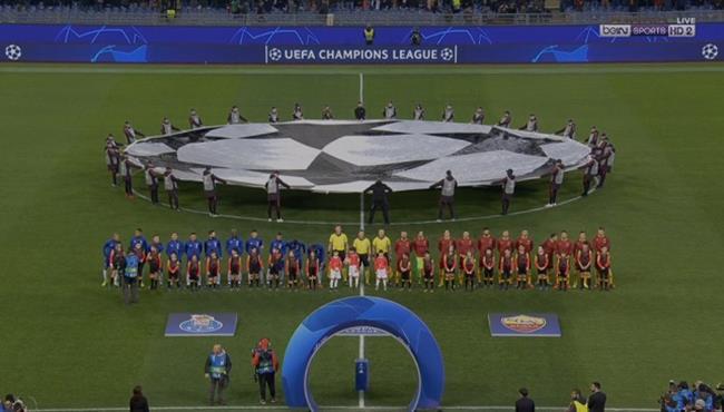 ملخص مباراة روما وبورتو (2-1) تعليق حفيظ دراجي