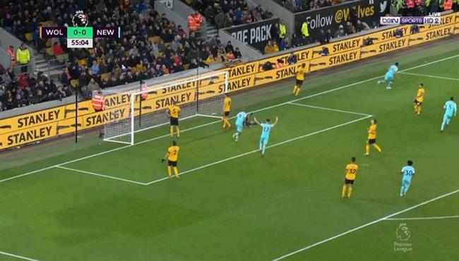 اهداف مباراة نيوكاسل وولفرهامبتون (1-1) الدوري الانجليزي