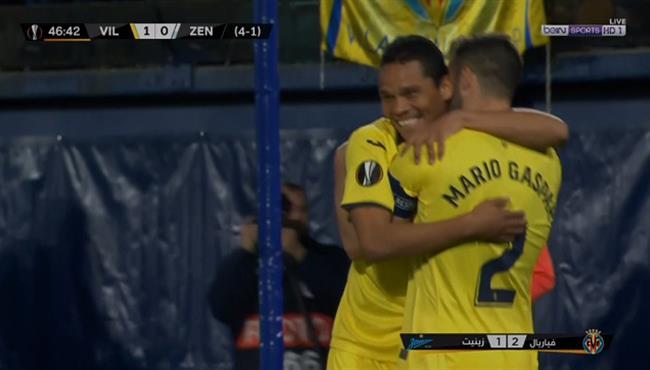 اهداف مباراة فياريال وزينيت سانت بطرسبرج (2-1) الدوري الاوروبي