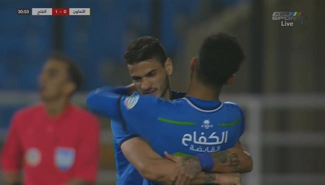 اهداف مباراة التعاون والفتح (1-1) الدوري السعودي
