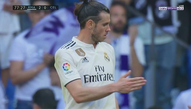 هدف ريال مدريد الثاني في مرمي سيلتا فيجو بالدوري الاسباني