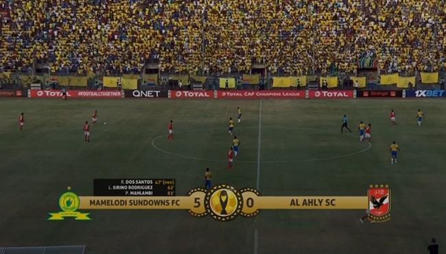 ملخص مباراة الاهلي وصن داونز 0 5 دوري ابطال افريقيا بطولات