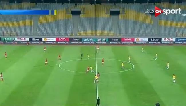 ملخص مباراة الاهلي والاسماعيلي 1 1 الدوري المصري