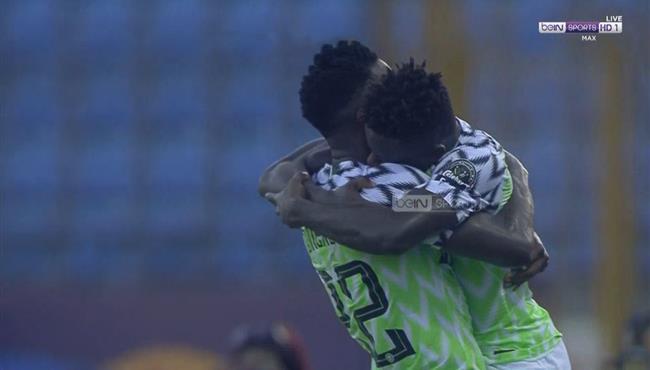 هدف نيجيريا الاول في مرمي غينيا بكأس امم افريقيا