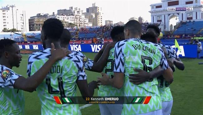 هدف فوز نيجيريا علي غينيا (1-0) كأس امم افريقيا