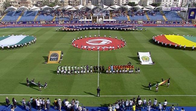 ملخص مباراة نيجيريا وغينيا (1-0) كاس امم افريقيا