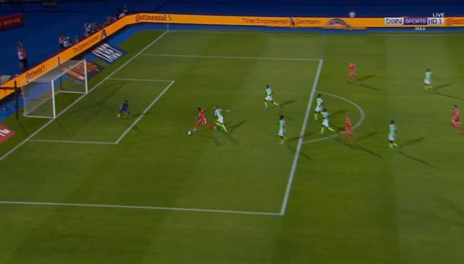 فراس شواط يهدر هدف مؤكد لتونس امام نيجيريا في كأس امم افريقيا