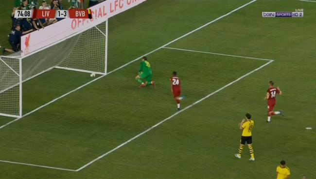 اهداف مباراة ليفربول وبوروسيا دورتموند (2-3) مباراة ودية