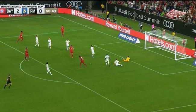هدف بايرن ميونخ الثالث في مرمي ريال مدريد