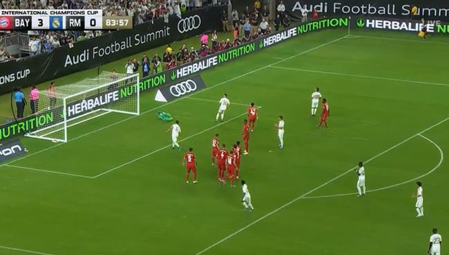 هدف ريال مدريد الاول العالمي في مرمي بايرن ميونخ