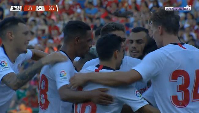 اهداف مباراة ليفربول واشبيلية (1-2) مباراة ودية