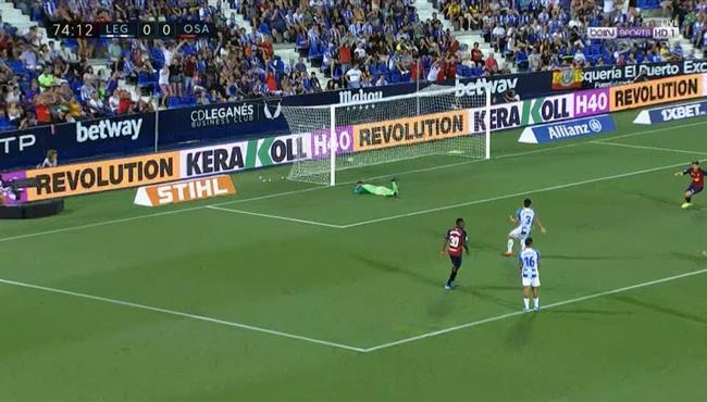 هدف فوز اوساسونا الرائع علي ليجانيس (1-0) الدوري الاسباني