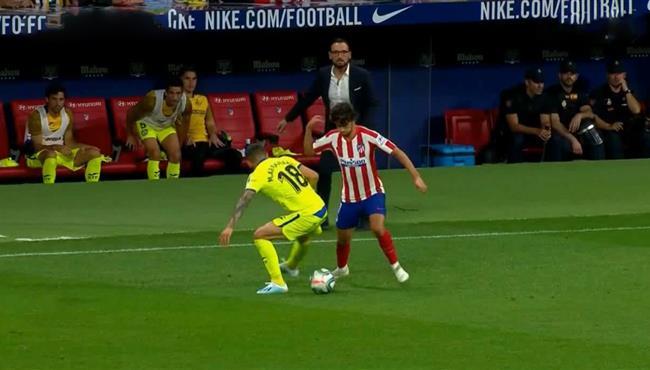 لقطة مهارية رائعة من جوا فيليكس في مباراة اتليتكو مدريد وخيتافي