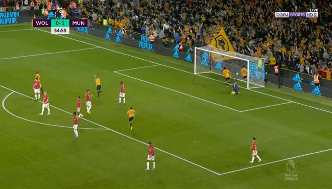 اهداف مباراة مانشستر يونايتد وولفرهامبتون (1-1) الدوري الانجليزي