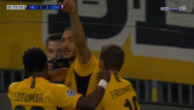 اهداف مباراة يونج بويز والنجم الاحمر (2-2) دوري ابطال اوروبا