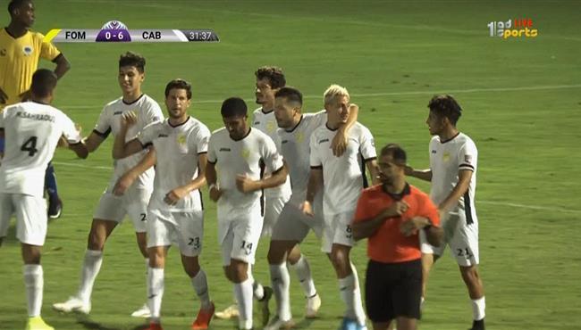 اهداف مباراة البنزرتي وفومبوني كلوب (7-0) البطولة العربية