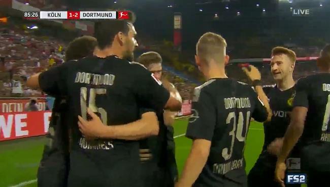 اهداف مباراة بوروسيا دورتموند وكولن (3-1) الدوري الالماني