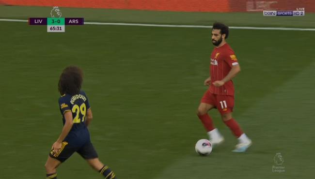 ملخص لمسات محمد صلاح في مباراة ليفربول وارسنال