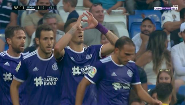 هدف تعادل بلد الوليد القاتل في مرمي ريال مدريد بالدوري الاسباني