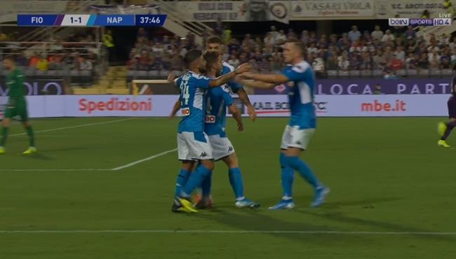 اهداف مباراة نابولي وفيورنتينا المثيرة (4-3) الدوري الايطالي