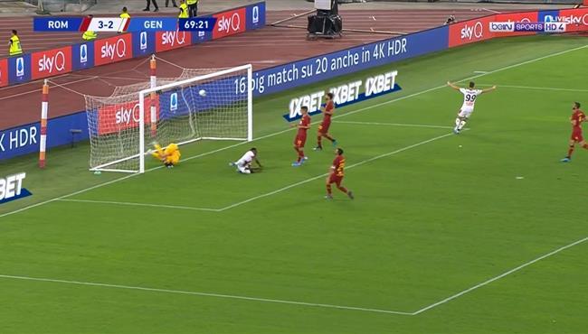 اهداف مباراة روما وجنوي (3-3) الدوري الايطالي