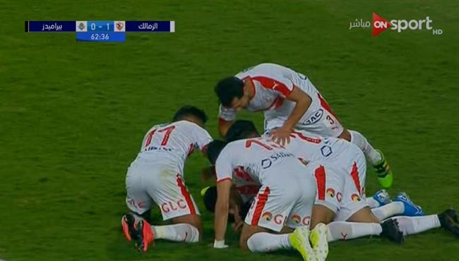 اهداف مباراة الزمالك وبيراميدز 3 0 نهائي كاس مصر بطولات