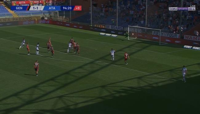 اهداف مباراة اتالانتا وجنوى (2-1) الدورى الايطالى