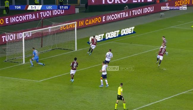 اهداف مباراة تورينو وليتشي (1-2) الدوري الايطالي