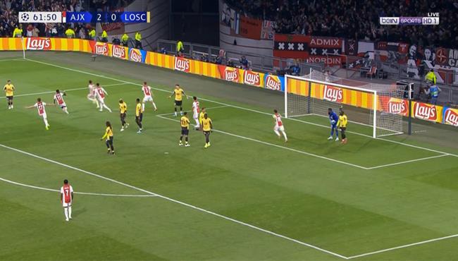 اهداف مباراة اياكس وليل (3-0) دوري ابطال اوروبا