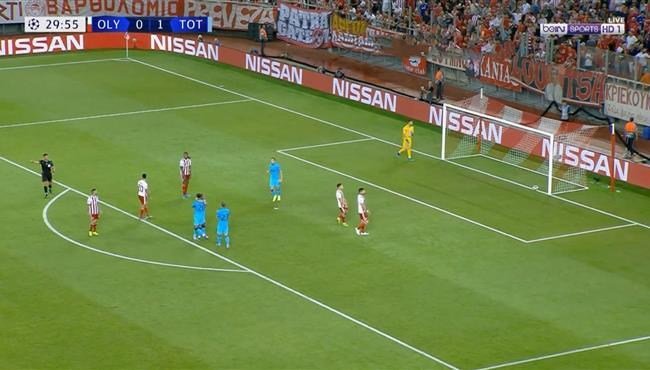 اهداف مباراة توتنهام واولمبياكوس (2-2) دوري ابطال اوروبا