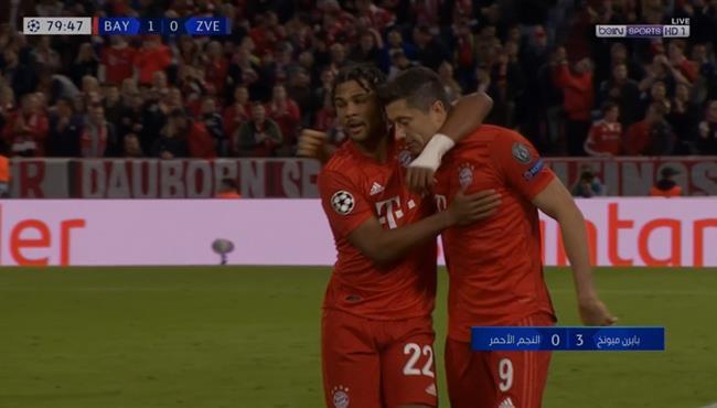 اهداف مباراة بايرن ميونخ والنجم الاحمر (3-0) دوري ابطال اوروبا